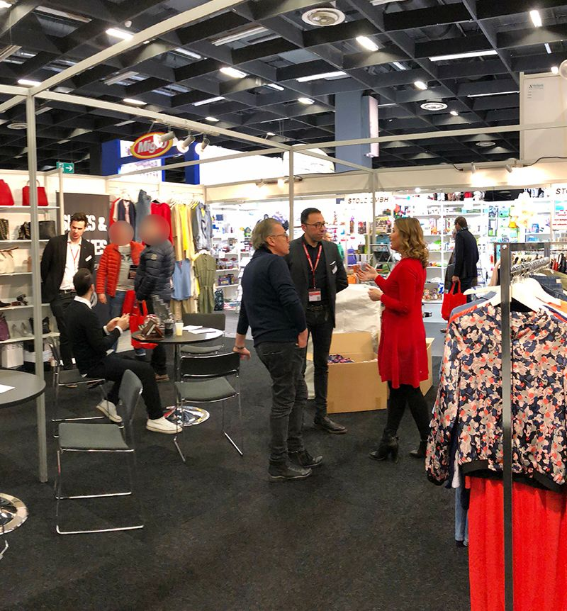 Shoes & Clothes by LM auf der IAW-Messe